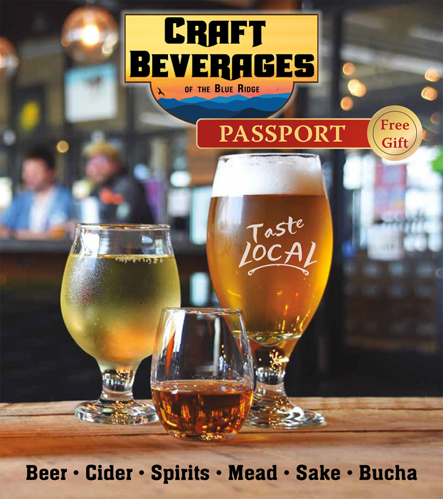 Front cover image of the Craft Beverages of Blue Ridge Guide